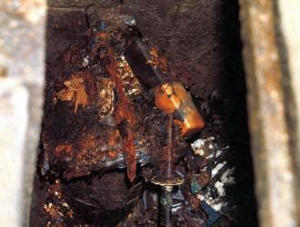 石室内部の副葬品
