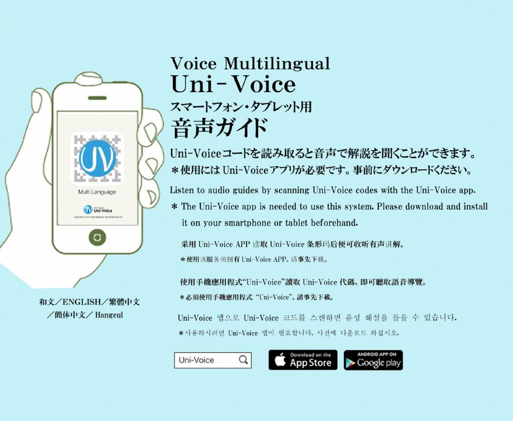 uni-voice使用方法