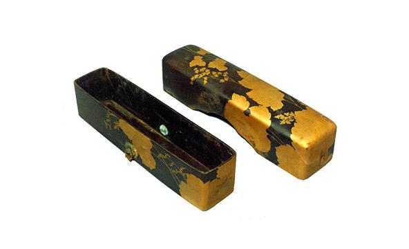 黒漆地葛蒔絵文箱(仙台市博物館 蔵)